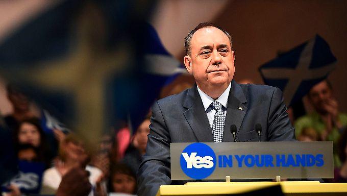 Alesx Salmond hatte trotz der Niederlage viel für Schottland gewonnen. Sein Rückzug kommt überraschend.
