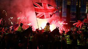 Frustration nach Referendum: In Glasgow kochen die Emotionen hoch