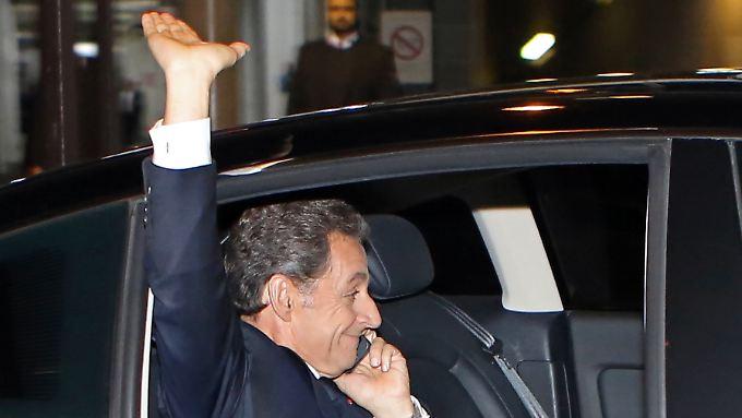 Frankreichs Ex-Premier Nicolas Sarkozy gibt wieder Gas.