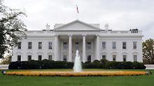 Verwirrter Ex-Soldat im Weißen Haus: Eindringling hatte 800 Schuss Munition dabei