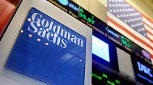 Notleidende Kredite bringen Not: Goldman-Sachs-Händler versenken Millionen