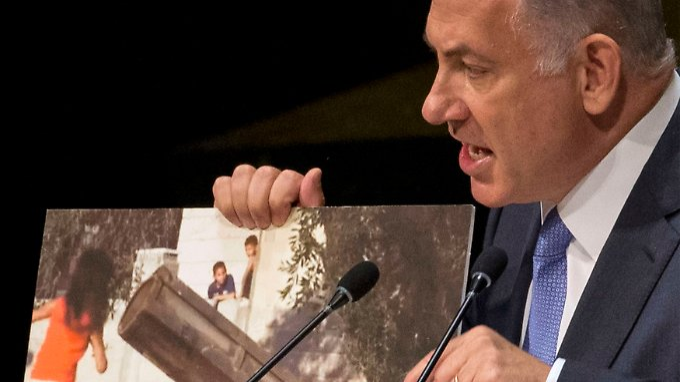 Der Iran ist schlimmer als der IS, der IS wiederum auf einer Stufe mit der Hamas - so das Weltbild von Benjamin Netanjahu.