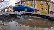 Der Bedarf an Investitionen in die Infrastruktur, zum Beispiel kaputte Straßen, ist groß.