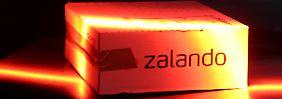 Zalando startet sein Börsenabenteuer mit mäßigem Erfolg.