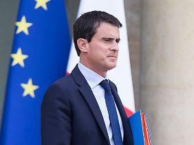 Manuel Valls will die EU-Defizitvorgabe 2017 einhalten.