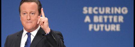 """""""Befugnisse zurückholen"""": Cameron sagt EU den Kampf an"""