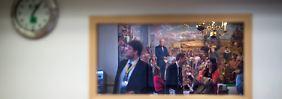 Die Gespräche fanden im Conference Center in Chevy Chase, Maryland, statt.
