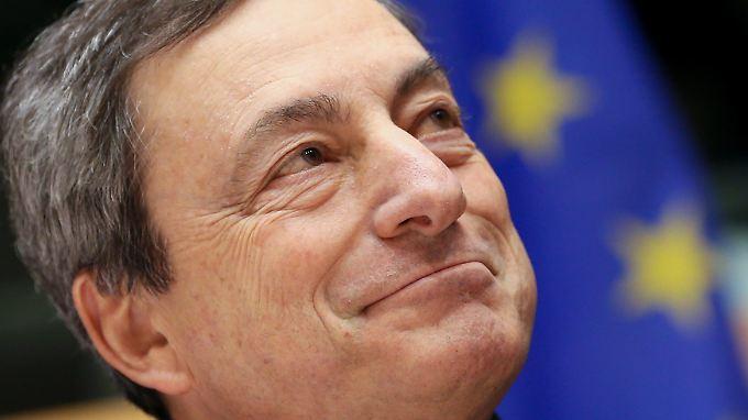 Draghis geldpolitische Ma0nahmen sorgen für Kritik.