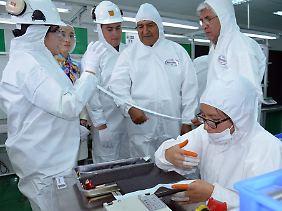 Seit Anfang des Jahres ist es in der Pilotfabrik nahe Potosí möglich, Lithium-Ionen-Akkus herzustellen.