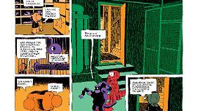 """Marko Turunen liefert im """"Comic Atlas"""" einen so bunten wie absurden Beitrag ab."""