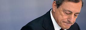 Kritik an lockerer Geldpolitik: EZB-Ratsmitglieder werfen Draghi Alleingänge vor