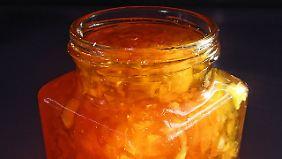 Nur das ist Marmelade: Fruchtaufstrich aus Zitrusfrüchten.