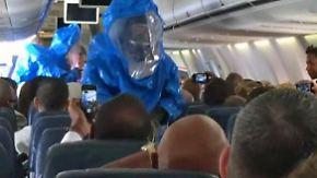 """""""Ich habe Ebola"""": Makabrer Scherz verängstigt Passagiere"""