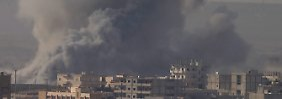 Video: USA fliegen stärkste Angriffe gegen IS
