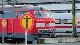 Bahnreisende genervt: Lokführer streiken das ganze Wochenende lang