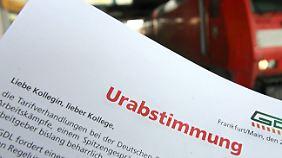 50-Stunden-Streik bei der Bahn: Hat die GDL bei der Urabstimmung geschummelt?