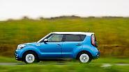 ... zwischen Kleinwagen und SUV angesiedelte Crossover preislich im Mittelfeld der E-Auto-Konkurrenz.
