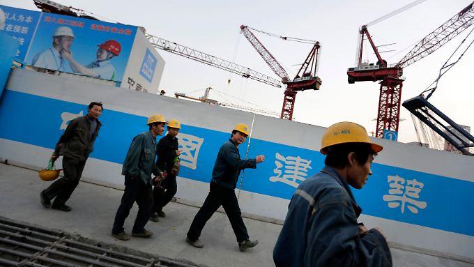 """""""Normaler Prozess"""": Chinas Wachstum fällt auf Fünf-Jahres-Tief"""