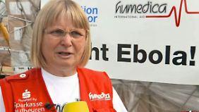 Nach Ebola-Einsatz in Afrika: Ärztin darf in Deutschland vorerst nicht mehr behandeln