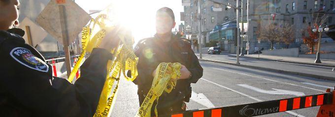 Downtown Ottawa: Die Polizei