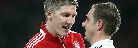 Die Eintor-Fliegen der Bundesliga: Lahm kann's doppelt - Schweinsteiger nicht