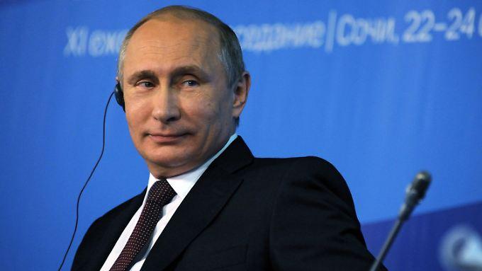 Putin zieht die Karte des Kalten Krieges.