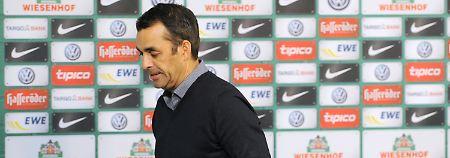 Muss gehen: Bremens Trainer Dutt.