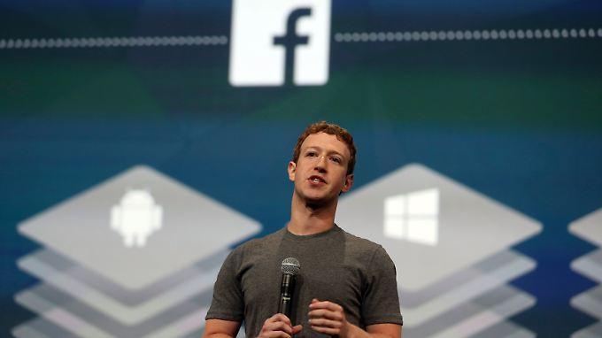 Facebook-Gewinn fast verdoppelt: Zuckerberg-Pläne machen Anleger misstrauisch