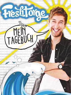 """""""Mein Tagebuch"""" von Freshtorge ist bei Carlsen erschienen, 128 Seiten als Taschenbuch, 9,99 Euro."""