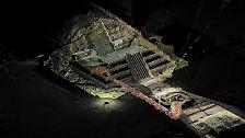 Unterhalb der Pyramidenstadt haben Forscher in einem Tunnel verborgene Schätze entdeckt.