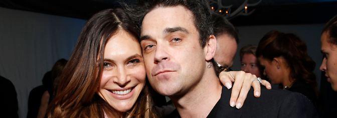Sein Schweizer Taschenmesser: Das ist die Frau, die Robbie Williams zähmte