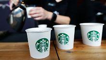 Zeichen gegen Trump: Starbucks will 10.000 Flüchtlinge einstellen