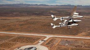 """""""SpaceShipTwo""""-Unglück: Traum der privaten Raumfahrt bröckelt"""