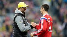 + Fußball, News, Gerüchte +: Klopp-Zitat schürt Lewandowski-Gerüchte