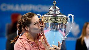 Vor dem Fed-Cup-Finale: Andrea Petkovic triumphiert in Sofia