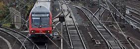 98 Stunden keine Personenzüge: Lokführer streiken ab Mittwoch