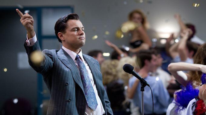 """Szene aus dem Film """"Wolf of Wall Street"""". Ähnliche Szenen wurden vor dem New Yorker Gericht beschrieben."""