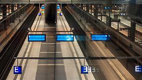 Auch an Tag zwei stehen die Züge still: GDL-Streik erneut vor Gericht