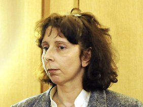 Geneviève L. im Dezember 2008 vor Gericht in Nivelles.