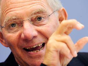 Bundesfinanzminister Schäuble drängt auf ausreichend Zeit.