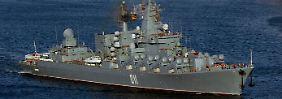 Vor dem Auftakt des G20-Gipfels: Russische Kriegsschiffe vor Australien