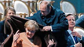 G20-Gipfel zeigt Teilerfolge: Merkel schweigt, Putin bockt, Obama sanktioniert