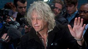 """30 Jahre nach """"Band Aid"""": Bob Geldof bittet Musik-Stars für Ebola-Hilfe ins Studio"""