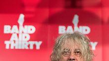 Bon Geldof rief 1984 Band Aid ins Leben - 30 Jahre später ist er wieder mit von der Partie.