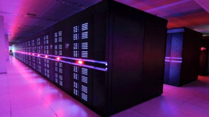"""Das ist er: Der chinesische Rechner """"Tianhe-2"""", was übersetzt """"Milchstraße"""" bedeutet, ist der schnellste der Welt."""