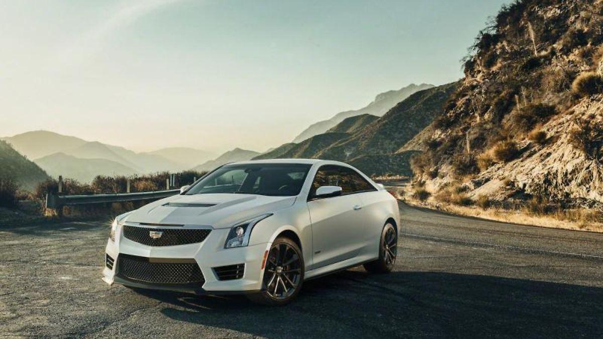 Cadillac ATS-V lässt die Muskeln spielen