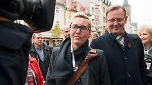 Regierungsbildung in Thüringen: Rot-rot-grüne Koalition steht