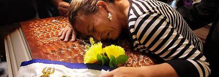Mord aus Eifersucht: Getötete Miss Honduras beigesetzt