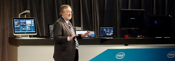 Das Ende von XP sorgt für zusätzlichen Rückenwind: Andy Bryant steuert bei Intel den Verwaltungsrat.