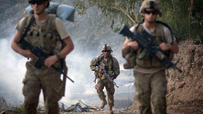 Wie viele US-Soldaten tatsächlich in Afghanistan bleiben werden, ist noch völlig unklar.